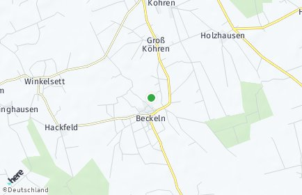 Stadtplan Beckeln