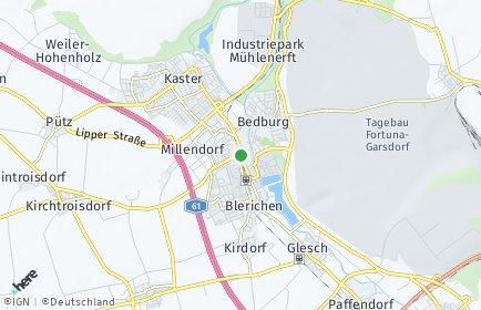 Stadtplan Bedburg