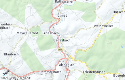 Stadtplan Bedesbach