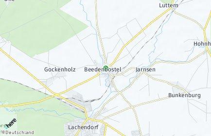 Stadtplan Beedenbostel