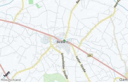 Stadtplan Beelen