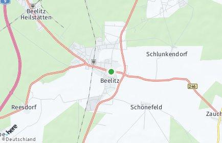 Stadtplan Beelitz