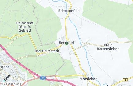 Stadtplan Beendorf