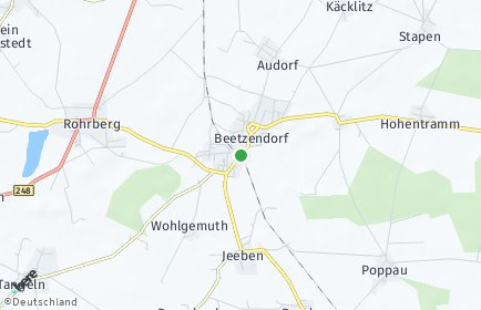 Stadtplan Beetzendorf