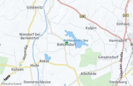 Stadtplan Behlendorf