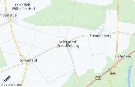 Stadtplan Beiersdorf-Freudenberg