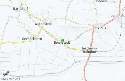 Stadtplan Beierstedt