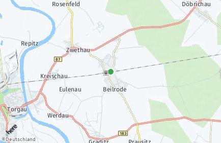 Stadtplan Beilrode