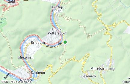 Stadtplan Beilstein (Mosel)