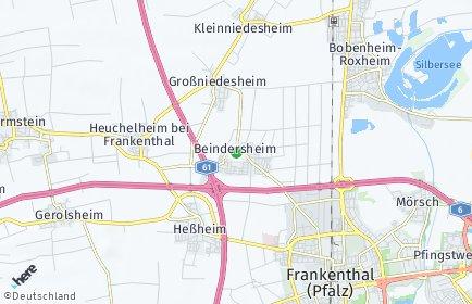 Stadtplan Beindersheim