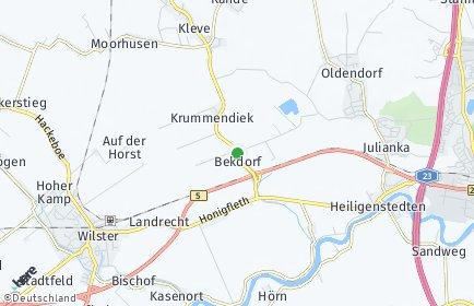 Stadtplan Bekdorf