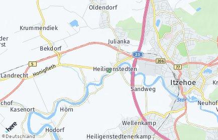 Stadtplan Bekmünde