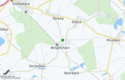 Stadtplan Belgershain