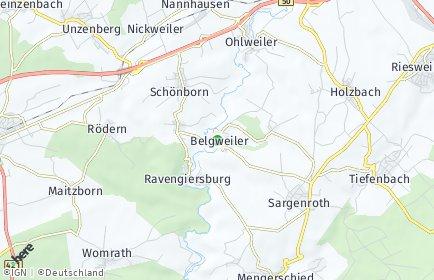 Stadtplan Belgweiler