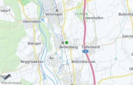 Stadtplan Bellenberg