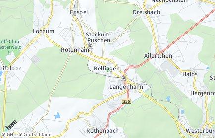 Stadtplan Bellingen