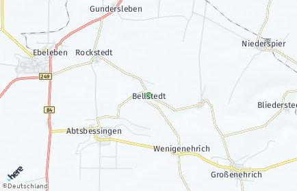 Stadtplan Bellstedt