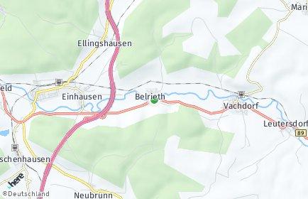 Stadtplan Belrieth