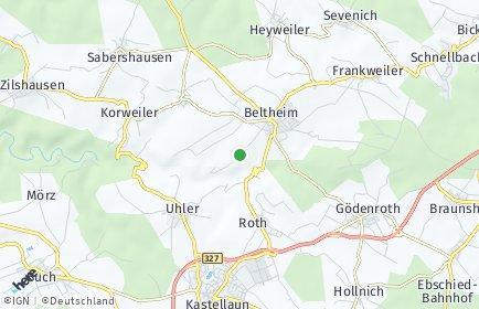 Stadtplan Beltheim