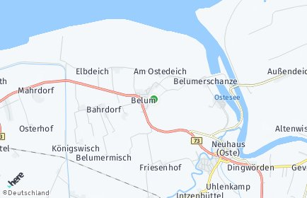 Stadtplan Belum