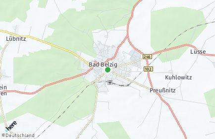 Stadtplan Bad Belzig
