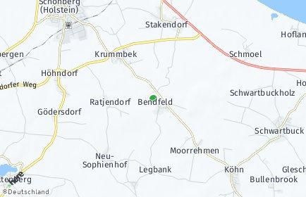Stadtplan Bendfeld