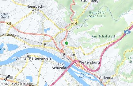 Stadtplan Bendorf