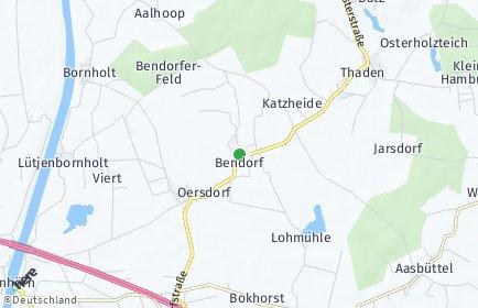 Stadtplan Bendorf (Holstein)