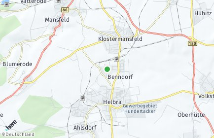 Stadtplan Benndorf