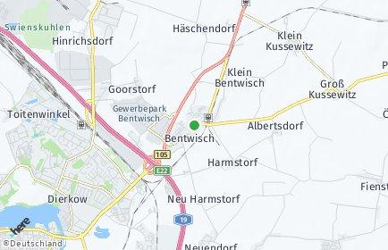 Stadtplan Bentwisch