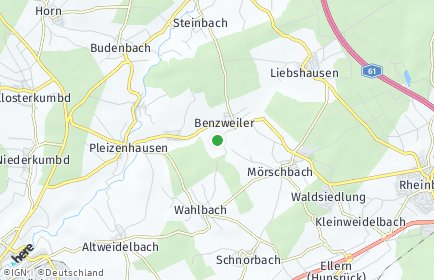 Stadtplan Benzweiler