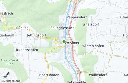 Stadtplan Berching