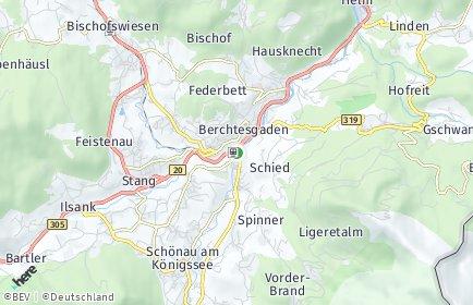 Stadtplan Berchtesgaden