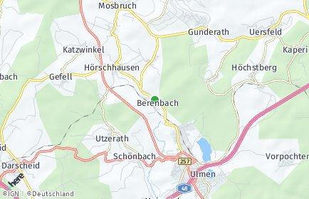 Stadtplan Berenbach