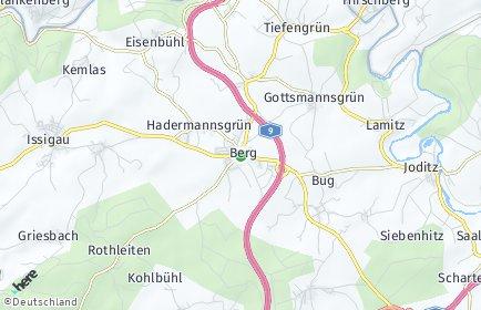 Stadtplan Berg (Oberfranken)