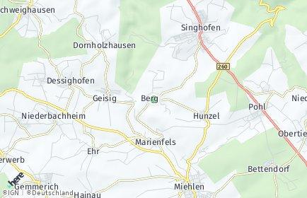 Stadtplan Berg (Taunus)