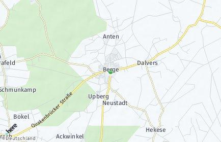 Stadtplan Berge (Niedersachsen)