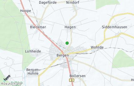 Stadtplan Bergen (Landkreis Celle)