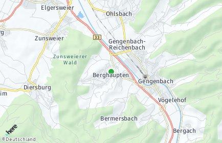 Stadtplan Berghaupten