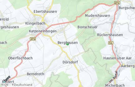 Stadtplan Berghausen