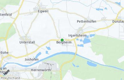Stadtplan Bergheim (Oberbayern)