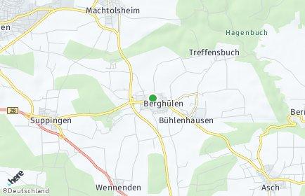 Stadtplan Berghülen