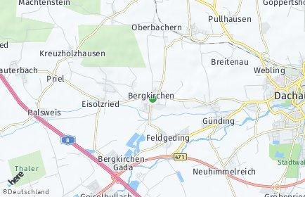 Stadtplan Bergkirchen