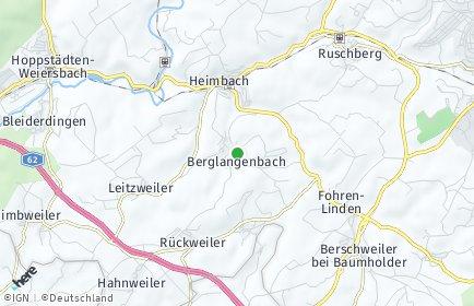 Stadtplan Berglangenbach