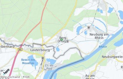 Stadtplan Berg (Pfalz)