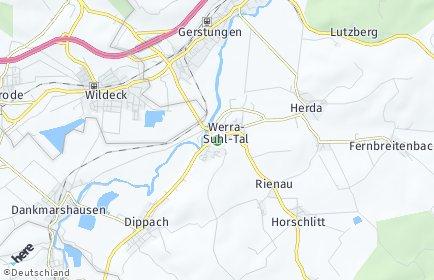 Stadtplan Werra-Suhl-Tal