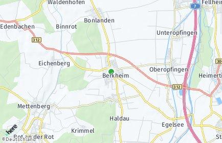 Stadtplan Berkheim