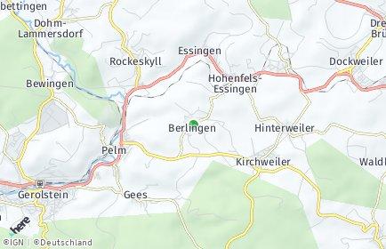 Stadtplan Berlingen
