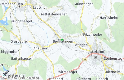 Stadtplan Bermatingen