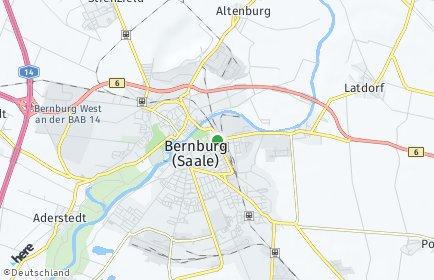 Stadtplan Bernburg (Saale)